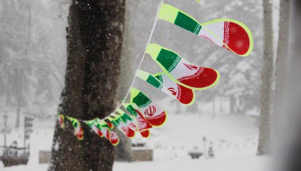 ایران در زمستان