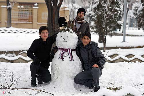 ایران در برف و زمستان